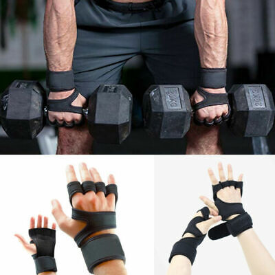 Fitness Gloves Weight Lifting Sport Workout Training Wrist Wrap for Men/Women