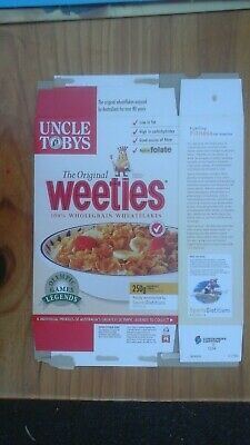 Weeties Cereal Box Sydney Olympic Games Murray Rose