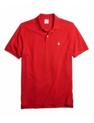 Polo Brooks Brothers Slim Fit Rossa