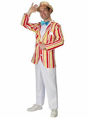 Jolly Holiday Bert Disney Mary Poppins 1920s English Gentleman Mens Costume