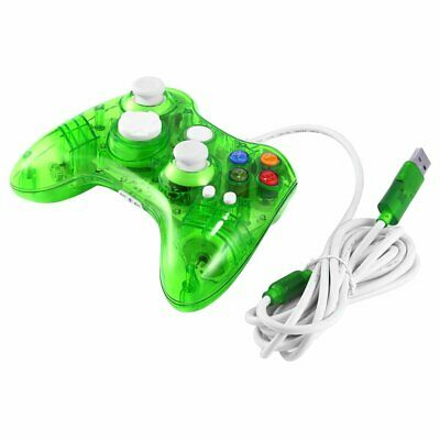 USB Wired Game Controller for Xbox 360 Joypad Gamepad Joystick with LED Light HJ