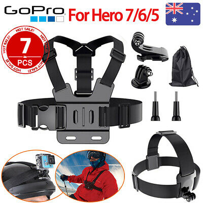 Head Strap Mount Chest Harness for GoPro HD Hero 7 6 5 4 3+ 3 Chesty Accessories
