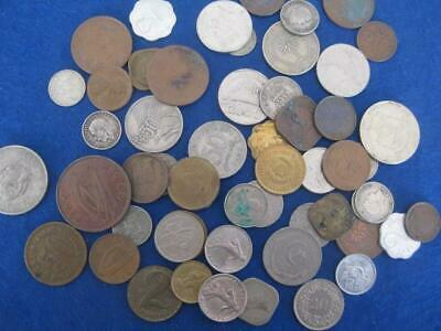 "world coins ""bulk""   210  grams +   assorted coins   (a)"