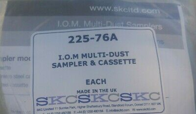 New 225-76A IOM Inhalable Sampler and Cassette, Stainless Steel