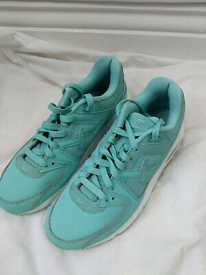 Womens Teens Girls Nike Air Trainers Shoes Light Blue Turquoise UK Size 5 #4