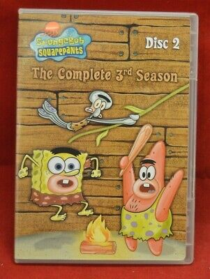 Spongebob Squarepants Disc 2 Season DVD PreViewed Clean Disc Cartoon Nickleodeon