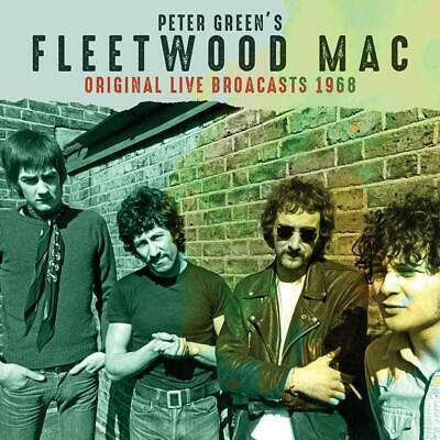 PETER GREEN'S FLEETWOOD MAC 'ORIGINAL LIVE BROADCASTS 1968' Coloured VINYL LP