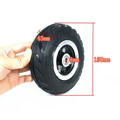 Replacement Tyre Spare Parts Wear resistance Air Wheel Tire For Electric Scooter