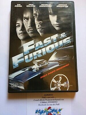 Fast and furious solo parti originali dvd