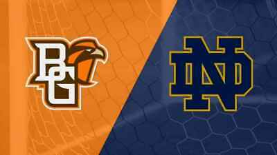 2 Notre Dame vs Bowling Green Football Tickets. AWESOME SEATS!!!
