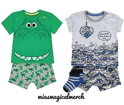 Brand New Baby Disney Toy Story Clothing Rex Alien Short Sets