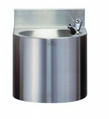 New Rba 8901-102 Wall Mounted Water Drinking Fountain - Silver 305Mmw X 320Mmh