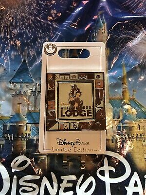 Disney World Wilderness Lodge 25th Anniversary Chip & Dale Pin LE1500 In Hand
