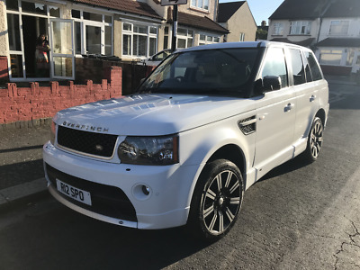 range rover sport HSE 2007 with 2012 front upgrade overfinch body kit and alloys