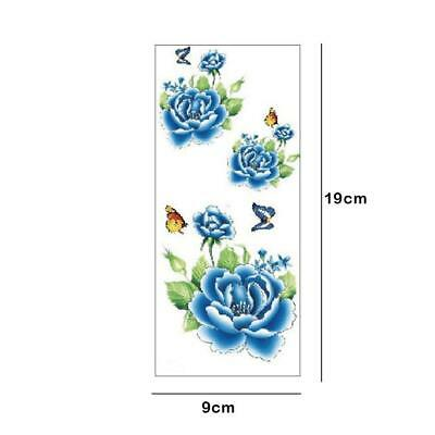 7b97938aa Tattoo Pack of 12 Sheets Flower Temporary Tattoos Stickers Lotus Cherry  Blossoms