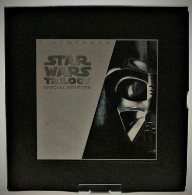 1997 Lucasfilm Star Wars Trilogy Special Edition Widescreen Laser Disc Box Set