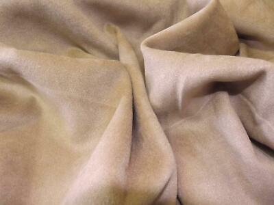 EMERALD Faux Suede Suedette 100/% Polyester Fabric Materia 170g