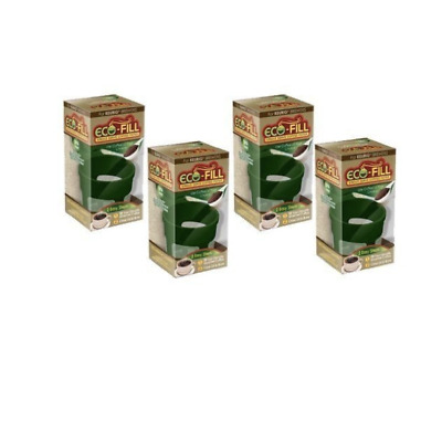 Perfect Pod Eco-Fill Refillable Capsule for K-cup Brewers- 4 Pack
