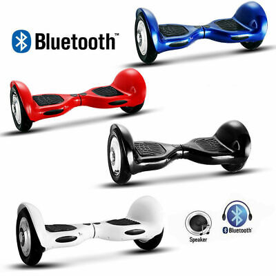"Nuovo Hoverboard 10"" Speaker Bluetooth A Led Overboard Elettrico Smart Balance"