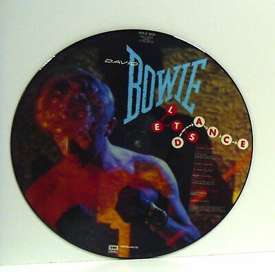 DAVID BOWIE lets dance (picture disc) LP EX, AMLP 3029, vinyl, album, uk, 1983,