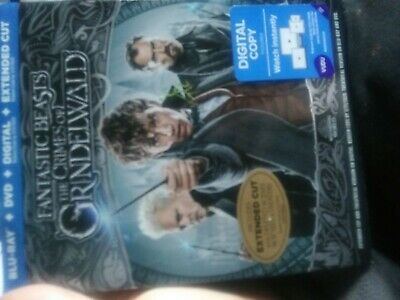 Fantastic Beasts: The Crimes of Grindelwald (Blu-Ray + DVD only and the slipcove
