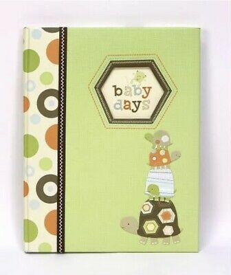 Carters GIBSON baby RECORD BABY BOOK MEMORY laguna baby days turtle