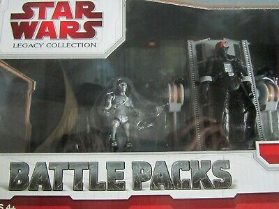 Hasbro Star Wars Legacy Collection Battle Packs - Birth of Darth Vader NISB