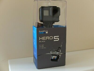 Gopro Hero 5 Black Camcorder Boxed 4K / 1080P Hd Sports Action Video Camera