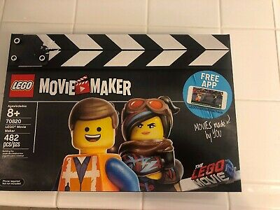 Lego #70820 The Lego Movie 2 Lego Movie Maker Emmet Lucy & Rex Film Director NIB