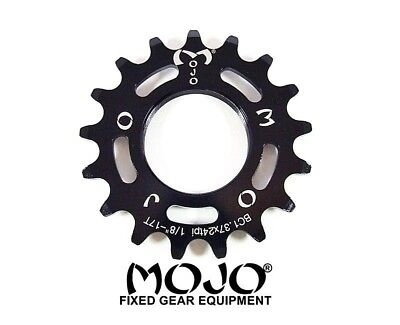 GOLD ANODIZED Cro-Mo TRACK 19 TOOTH 1//8 INCH CNC MOJO 19T FIXED GEAR COG