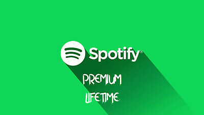 Spotify Premium Account - Lifetime Warranty - Worldwide - Private Account