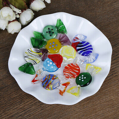 1/5/10Pcs Vintage glass sweets wedding party candy Christmas decoration gift*