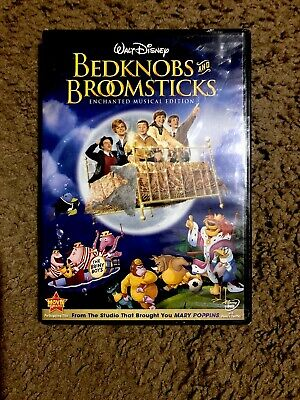 Bedknobs and Broomsticks (DVD, 2009, Enchanted Musical Edition) Brand New!