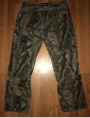 a4e86eefd99c4 NEW MENS OUTFITTERS RIDGE Camo Pants 3XL (48/50) REALTREE Hardwoods ...