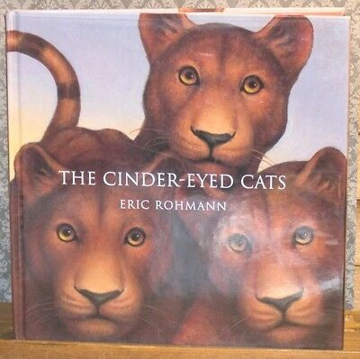 The Cinder-Eyed Cats by Eric Rohmann First Edition 1st Hardcover Picture Book HC