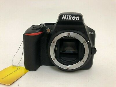 Nikon D3500 DSLR Camera Body Only – Cracked Screen – Missing Battery/charger
