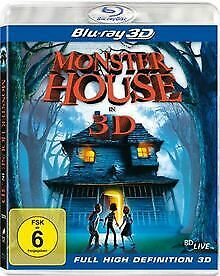 Monster House (3D Version) [3D Blu-ray] de Kenan, Gil | DVD | état neuf
