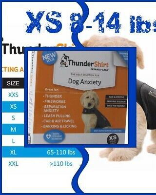 🐶ThunderShirt Insanely Calm Dog Anxiety Size XS 8-14 lbs {Brand New}🐶