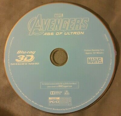 Marvel's Avengers: Age of Ultron Blu-ray 3D DISC only