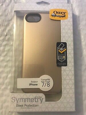 Genuine OtterBox - Symmetry Series Case for Apple® iPhone® 7 & 8 Tan/ Champagne
