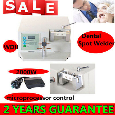 CE Dental Spot Welder Welding Orthodontic Materials Heat Treatment WDII US SALE