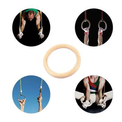 Training Up Ring Gym Pull Straps Gymnastic Rings Crossfit Fitness Strength UQOX