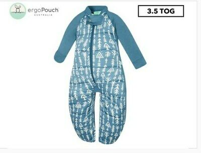 ergoPouch 3.5 Tog Baby Sleeping Suit Bag - Midnight Arrows 2-12 Months