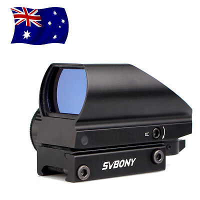 SVBONY Red+Green Tactical Waterproof Dot Sight 5 Level of Brightness 4Reticle AU