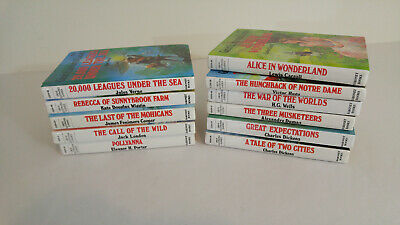 Great Illustrated Classics 11 Hardcover Books Classroom Home School Library
