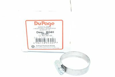 NEW Precision DuPage B24H 35305 1-1/16''-2'' Stainless Hose Clamps