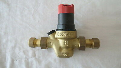 Boss Pressure Reducing Valve D05F-1/2 WRAS app 1.1/2 to 6 Bar 28110006 15mm refA