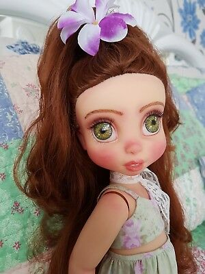 Dolls & Bears Disney Princess Merida Brave Custom Doll Ooak By Lavender6doll