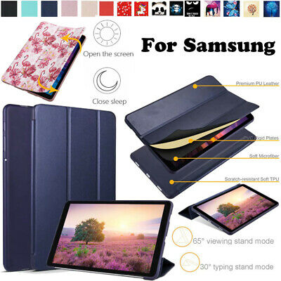 For Samsung Galaxy Tab A 10.5 T595 10.1 T580 8.0 P200 Tab S5e Case Smart Cover