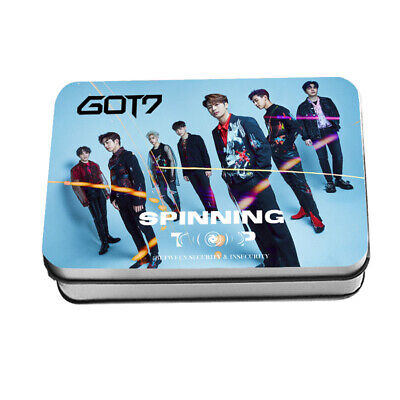 GOT7 SPINNING TOP : BETWEEN SECURITY & INSECURITY LOMO CARD Photocard 30pcs +Box